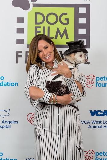 Melissa Rivers at the Dog Film Festival in LA