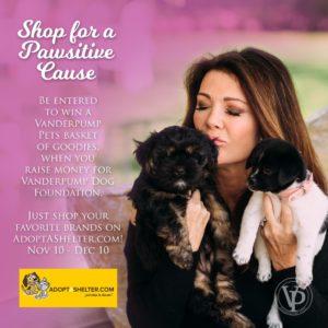 Lisa Vanderpump - AdoptAShelter.com